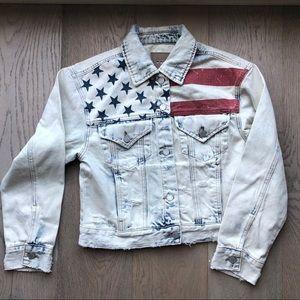 Blank NYC denim USA jacket